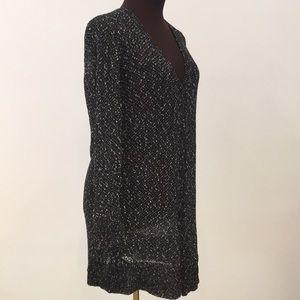 Eileen Fisher long cardigan linen/cotton Medium